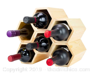 Atterstone Customizable Honeycomb Wine Rack (J18)