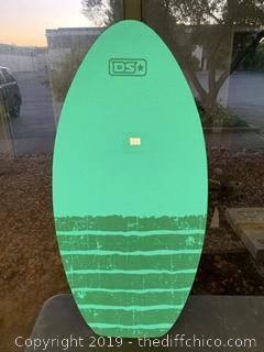 Driftsun Wood Skim Board with XPE Traction Pad, Lightweight and Durable - 40 Inch (J41)