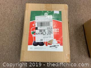 Holidayana 10 Foot Inflatable Santa With Merry Christmas Sign (J57)