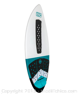 Driftsun Fiberglass Performance Skimboard with EVA Traction Pad (J79)
