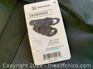 Winterial Black Snowshoes (J92)