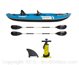 Driftsun Voyager 2 Person Inflatable Kayak (J96)