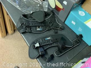 Frontpet Heavy Duty Double Back Dog Harness - Large (J140)
