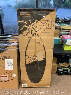 Driftsun 50/50 Skim Style Wakesurf Board (J145)