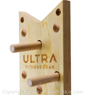 Ultra Fitness Gear 51-Inch Climbing Peg-Board (J157)