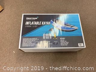 Driftsun Voyager 2 Person Inflatable Kayak (J173)