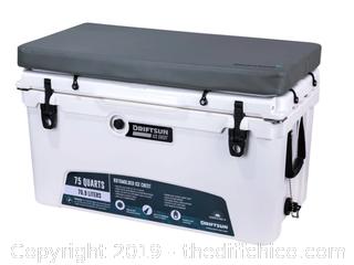 Driftsun Premium Cooler Seat Cushion - Fits 70Q & 75Q Driftsun Ice Chests (J189)