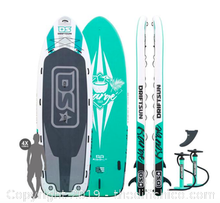 Driftsun Barge 15' Mega Inflatable Multi-Person Stand Up Paddleboard (J197)