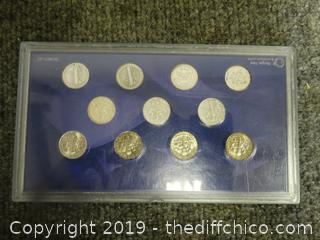 A Century Of Dimes Collection