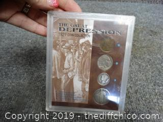 The Great Depression 1929 Coin Collection