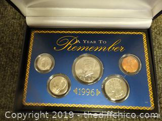1996 A Year To Remember Coin Collection