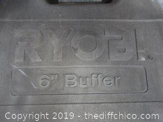 "Working Ryobi  6""Buffer"