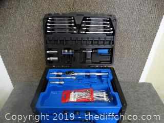 Kobalt Tool Box With Tools