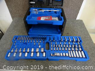 Kobalt Tool Box With Tools