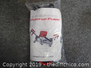 NIB Rocket Fitness Push up Pump