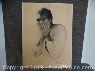 Signed Hand Drawn Picture
