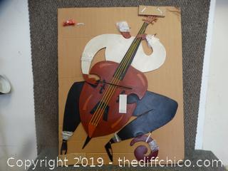 Cellist Wall Art