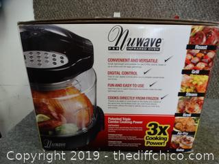 NU- Wave Pro-Infraded Oven NIB no book