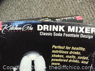 Kitchen Pro Drink Mixer NIB