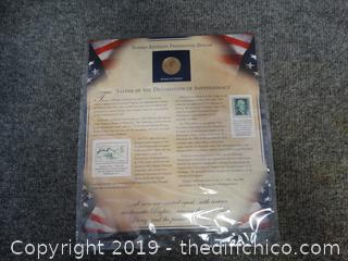 Thomas Jefferson Presidential Dollar Coin
