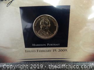 William Henry Harrison Presidential Dollar Coin
