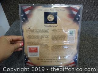 Andrew Jackson Presidential Dollar Coin
