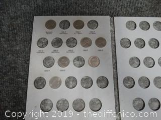 Nickel Collection Books  Missing Some Nickles