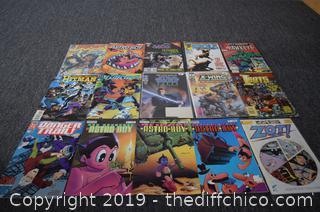 15 Comic Books