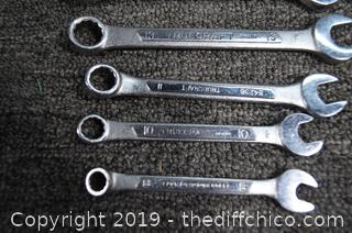 Set of Metric Wrenches