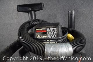 Working 8 Gallon Craftsman Wet / Dry Vac