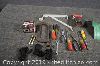 Mixed Lot of Tools and More