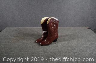 Cowgirl Rain Boots Size 8