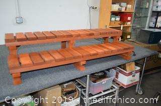 Redwood Pool or Spa Steps