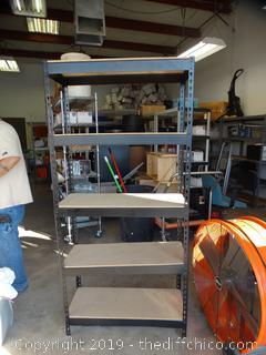 Adjustable Metal Shelf