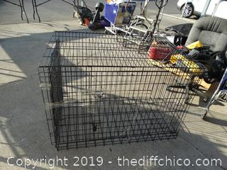 Large Dog Crate (no Tray on Bottom)
