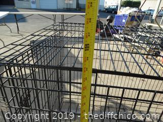 Large Dog Crate (no Tray on Bottom)