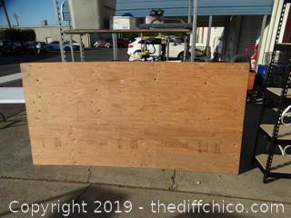 Plywood 4 X 8 X 1/2