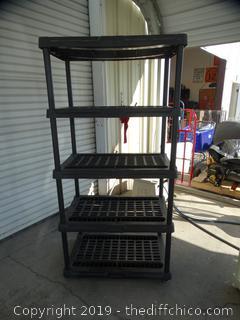 Multipurpose Plastic  Shelf