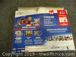 PS3 Disney Infinity Marvel Heros