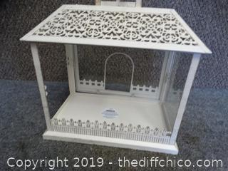 Candle Holder (missing glass on 2 sides