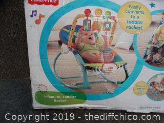 NIB Fisher Price Infant To Toddler Rocker