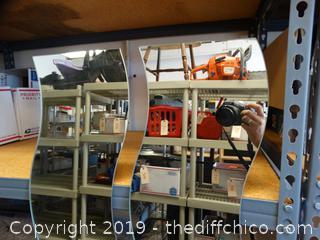 2 0f 6 Pieces Mirror Decor