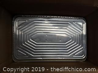 Full Size Aluminum Serving Trays