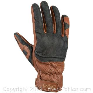 Motorcycle Riding Gloves With Knuckle Protection Plate - Size Medium (J23)