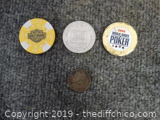 Gaming Token and Coins