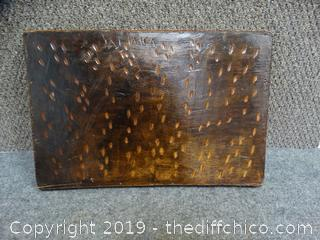 Wood Serving Tray From Jamica