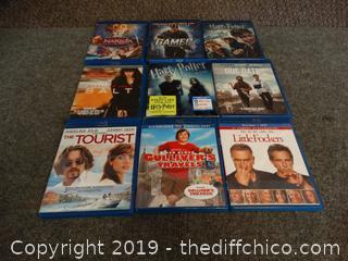 Blu-Rays Movies
