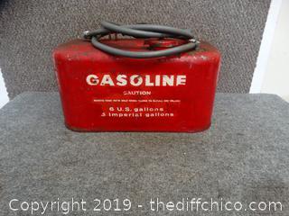6 Gallon Boat Gas Can