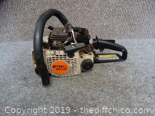 Stihl ms 170 Chainsaw Parts Only