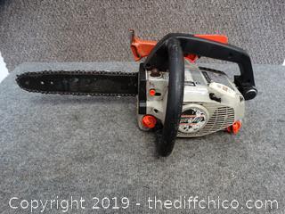 "Echo CS301 10"" Chain Saw Has Compression"